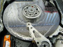 Recupero dati da hard disk allagati (FLOODING)