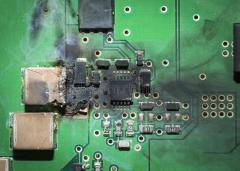 Recupero dati hard disk incendiati (FIRING)