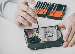 Il deterioramento di un hard disk