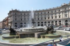 Recovery Italia nuova sede di Roma piazza della Repubblica