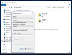 Formattare una chiavetta usb in Windows