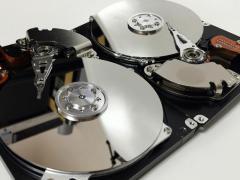 Il degrado magnetico di un hard disk