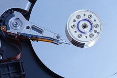recuperare i dati da un hard disk aperto