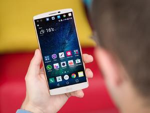 cercare le chat di WhatsApp su un cellulare LG v10