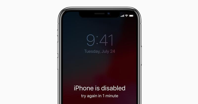come intervenire su un iphone disabilitato