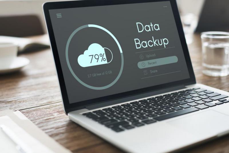 eseguire il backup dei dati