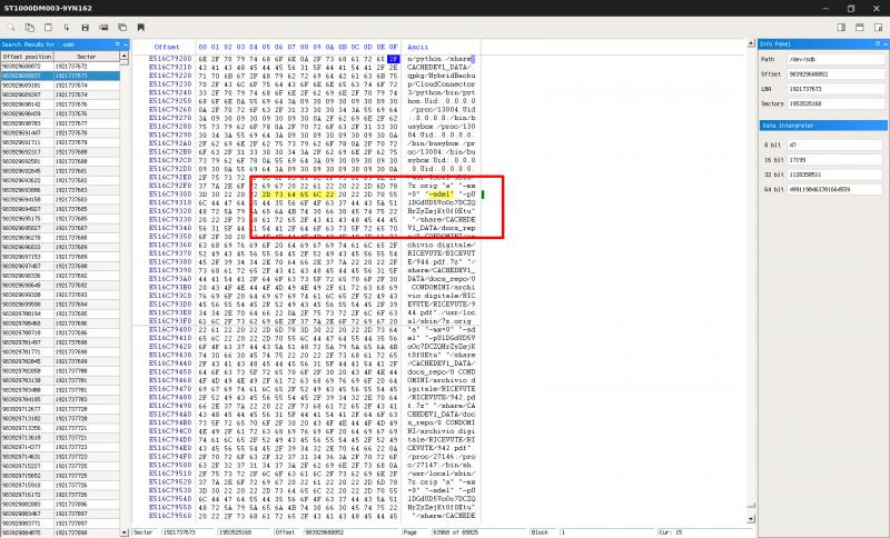 qnap ransomware log