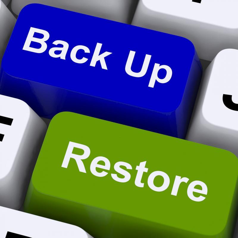 eseguire backup dei dati