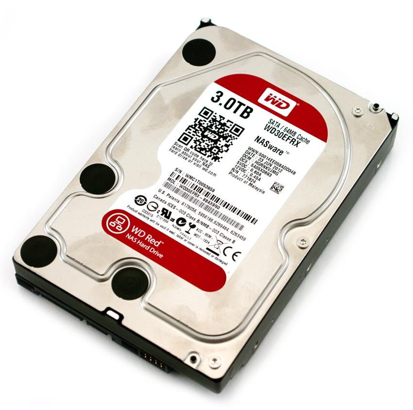 recuperare cartelle perse da un NAS da 3 terabyte
