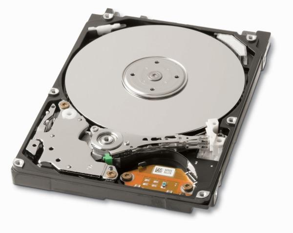 hard disk aperto