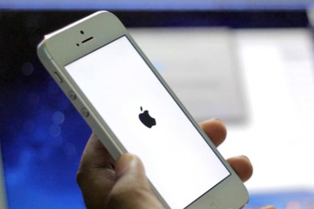 iPhone bloccato sulla mela