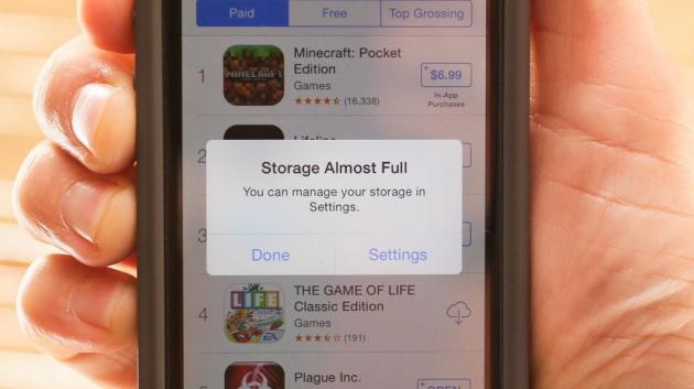 recupero dati iphone memoria piena