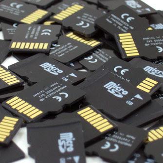recuperare una sd card riconosciuta da cui non si scaricano i dati