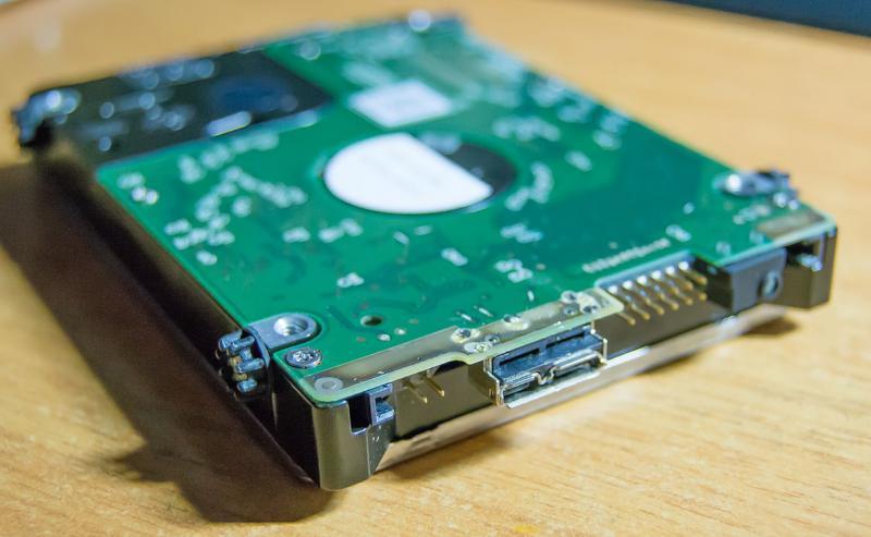 recuperare dati da un hard disk WD20NMVW caduto