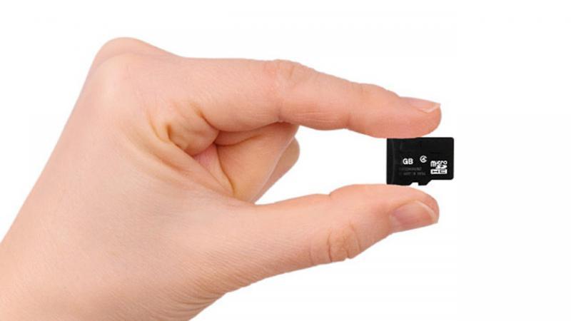 recupero dati sd card