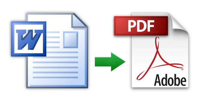 convertire file in pdf