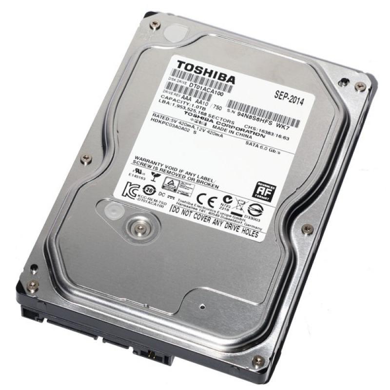 Recupero dati da hard disk Toshiba DT01ACA100